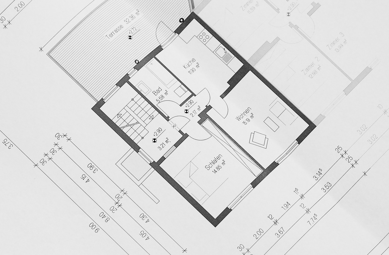 načrt za gradnjo hiše